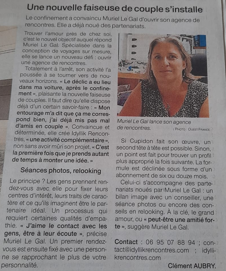 article ouest france 14 07 2020